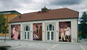 Alte Turnhalle Rathausplatz Bruneck